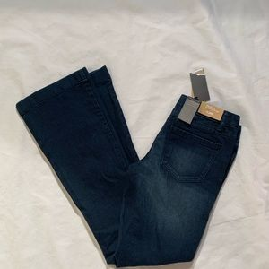 Mossimo Size 2 Flare Mid Rise Waist Hip Jeans